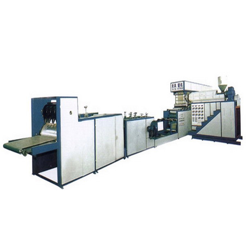 Machine d'extrusion de plastique automatique plastifier