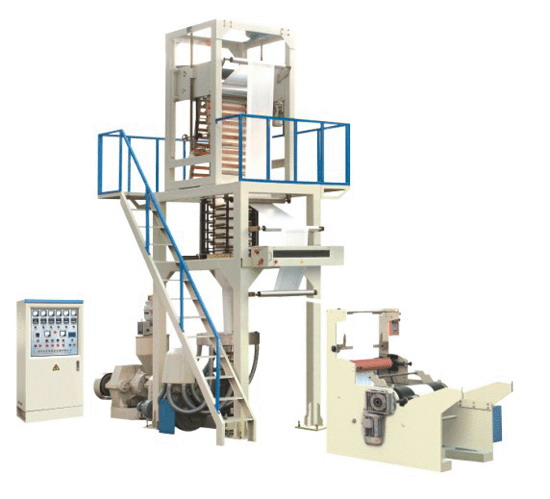 Automatic PE Plastic Film Blowing Machine