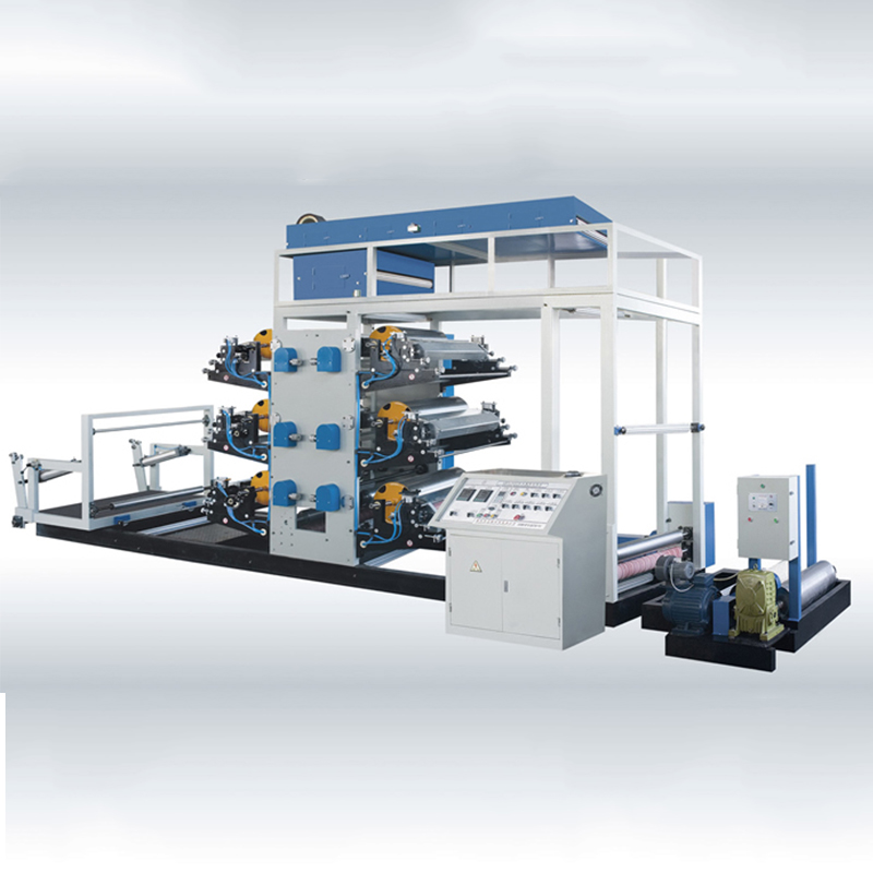 High Speed Flexo PP Bag Printing Machine